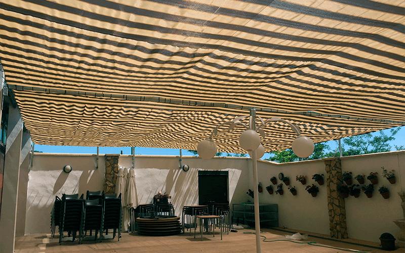 Malla de sombreo, malla de sombraje, sarán, shading nets, shade net